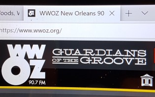 wwoz screen shot