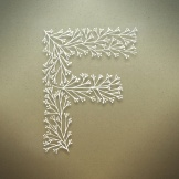 f letter design