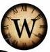 steampunk letter w