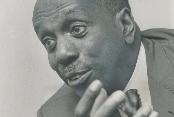 howard thurman close up