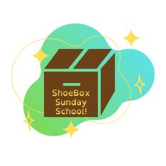 ShoeBox Sunday School logo